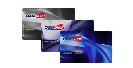 solicitar cartão de crédito credishop