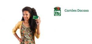 Solicitar cartão de crédito dacasa
