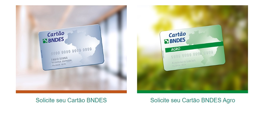 Solicitar cartão de crédito do BNDES